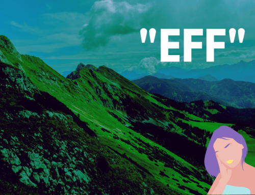 "Are you an ""EFF""er? 10 ""EFF""ortless Actions to Change"